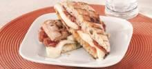 Pancetta Fresh Mozzarella Panini