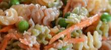 Pasta and Salmon Salad