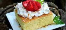 Pastel de Tres Leches (Three Milk Cake)