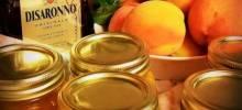 peach jam with amaretto liqueur