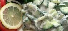 Persian Cucumber Yogurt (Maast-o Khiar)