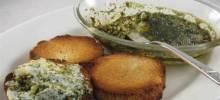 Pesto Cream Cheese Dip