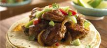 Pork Carnitas with Cilantro Tomatillo Sauce