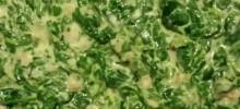 Quick and Easy Creamed Bacon Spinach