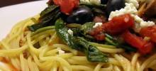 Quick and Easy Greek Spaghetti