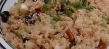 Quinoa Salad with Dried Fruit and Nuts