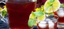 Raspberry ced Tea