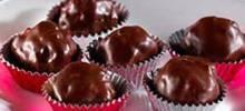 rce krspes® chocolate peanut butter balls