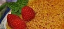 rish cream creme brulee