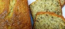 Roasted Pecan Banana Bread Loaves