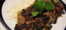 robin's sweet and spicy black beans