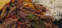 Ropa Vieja in a Slow Cooker