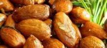 Rosemary and Garlic nfused Oven Roasted Almonds