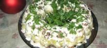 russian mushroom salad