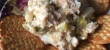 Russian Salmon and Potato Salad