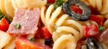 Salami Lover's talian Pasta Salad