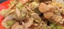 sally's napa cabbage salad