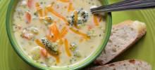 Sandy's Homemade Broccoli and Cheddar Soup