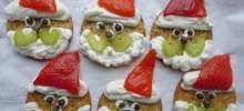 Santa Finger Food for Christmas