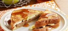 Sausage and Apple Stuffed French Toast