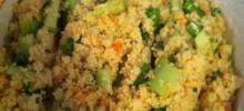 Savory Couscous Tabbouleh