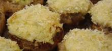Savory Crab Stuffed Mushrooms