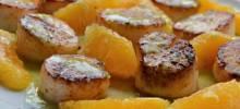 Seared Scallops with Jalapeno Vinaigrette