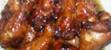 Sesame Oil Chicken Wings