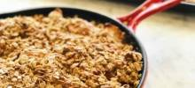 Sheet Pan Apple Crisp