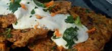shirataki-carrot curry croquettes
