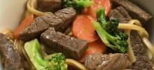 Shortcut Beef Noodle Bowl
