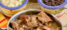 shredded slow cooker cuban beef