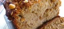 Simple Peanut Butter Banana Bread