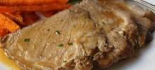 Slow Cooker Apple Cider Braised Pork