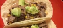 Slow Cooker Venison Burritos