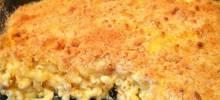 Smoky Four Cheese Macaroni Bake