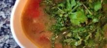Sopa De Lima (Mexican Lime Soup)
