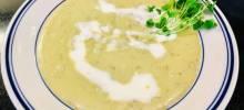 sorrel-potato soup