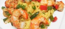 spanish rice and shrimp