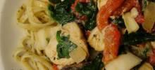 Spence's Pesto Chicken Pasta