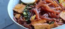 spicy asian cellophane noodle salad