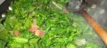 Spicy Collard Greens