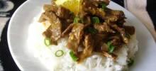 Spicy Orange Zest Beef