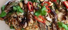 Spicy Rice Noodle Salad