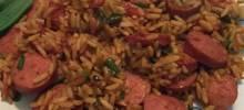 spruced-up zatarain's® jambalaya