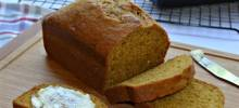 starbucks® pumpkin bread