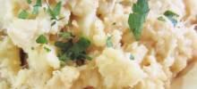 Steamed Mashed Cauliflower