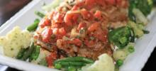 stewed tomato pork chops