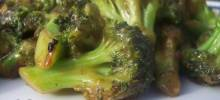 Stir-Fry Broccoli With Orange Sauce