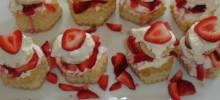 Strawberry Cream Cheese Clouds